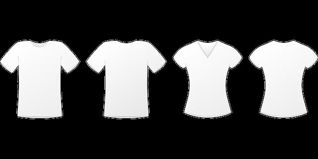 free vector graphic t shirt mockup tshirt clothing. Black Bedroom Furniture Sets. Home Design Ideas