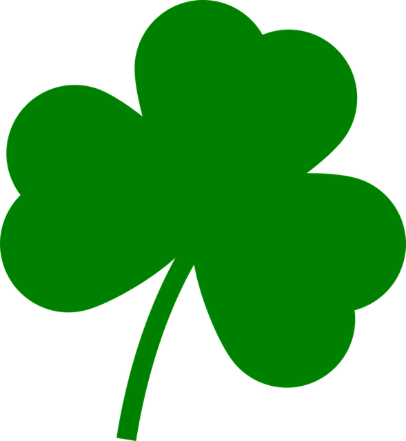 free vector graphic st patrick s day  clover  patrick clover clip art free green spring clover clip art free
