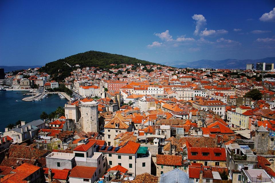 Free Photo Split Croatia Rooftops Cityscape Free