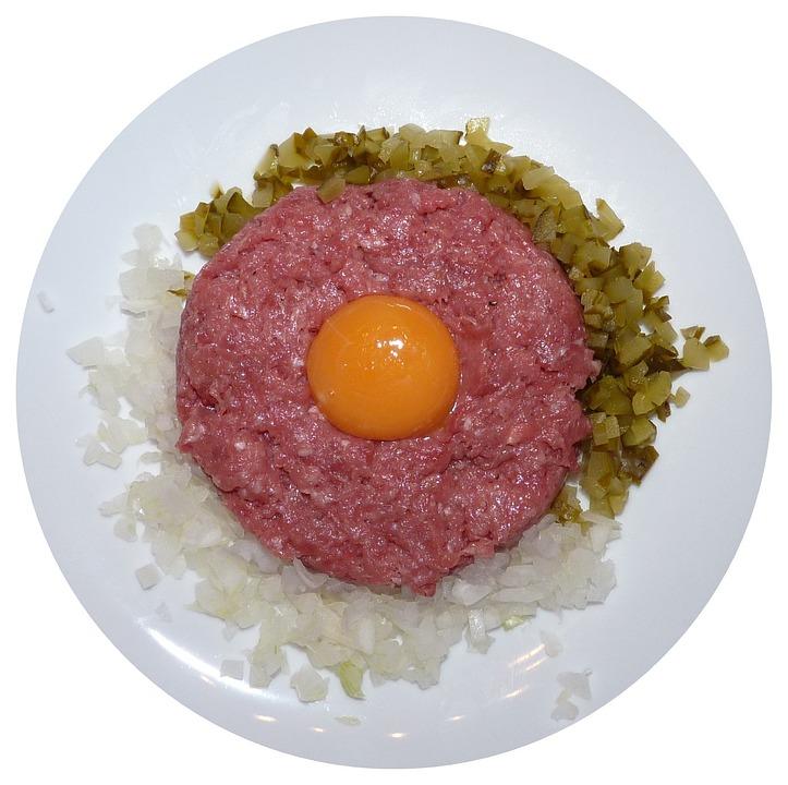 tatar hakket oksekød