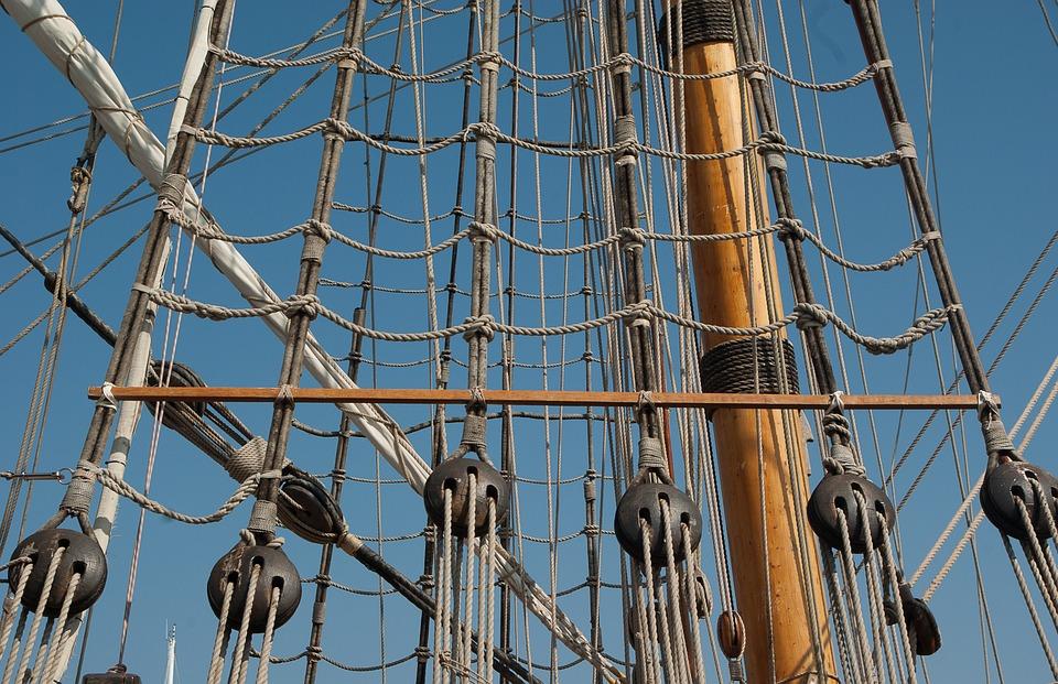 Photo gratuite m ts chelles de corde voilier image - Photo de voilier gratuite ...