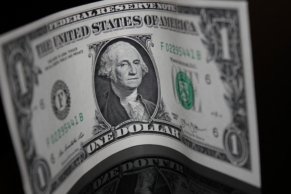 お金, ドル紙幣, 紙, 1 つ, ドル, 通貨, 現金, ユナイテッド, 状態, 社長