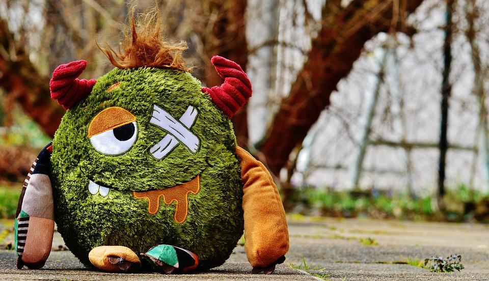 Monster Stuffed Animal Funny 183 Free Photo On Pixabay