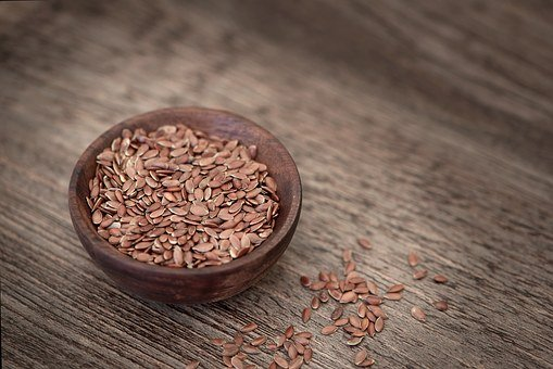 Flax Seed, Seeds, Eat, Healthy, Bowl