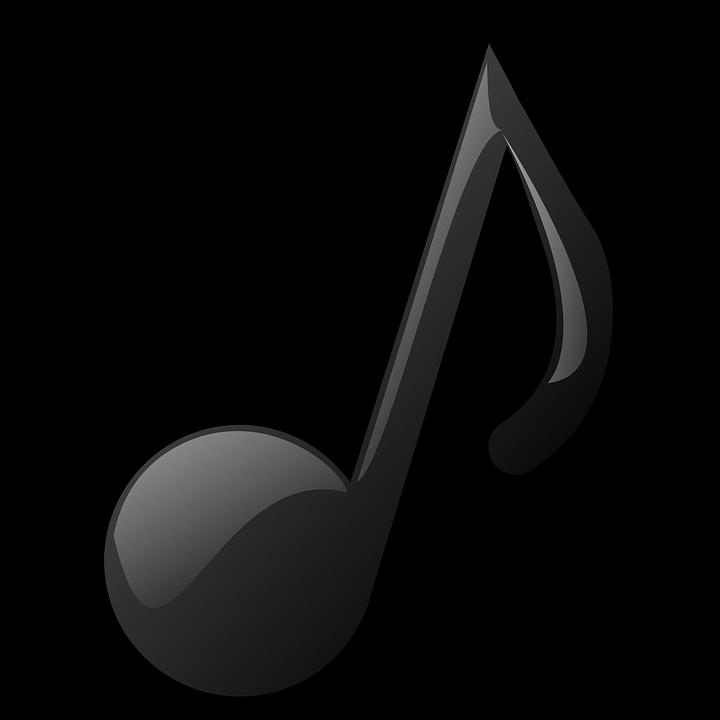 Ilustración gratis: Nota Musical, Corchea, Png, Melodía - Imagen ...