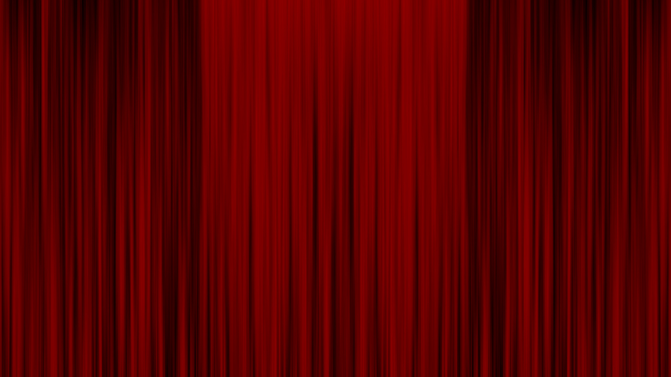 cartoon red curtains wallpaper - photo #36
