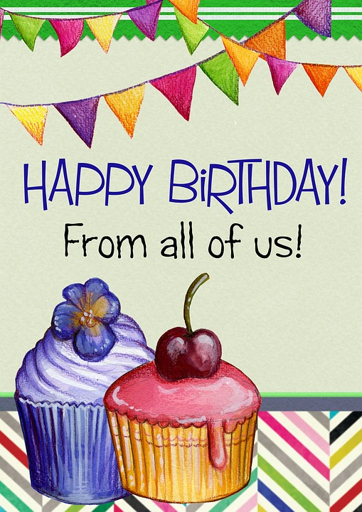 Free illustration Happy Birthday Greeting Card Cake Free – Birthday Greeting Pictures Free