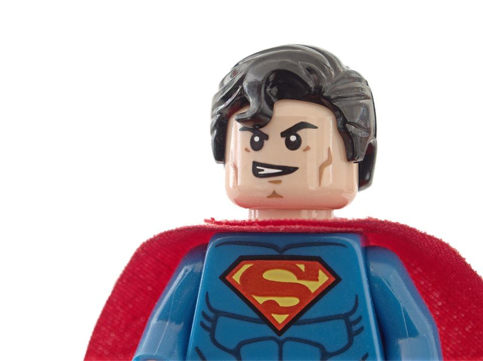 Superman lego superhero free photo on pixabay - Image de super hero ...