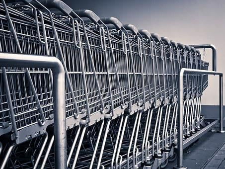 Shopping Cart, Shopping, Supermarket