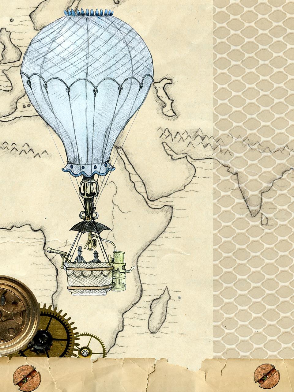 винтажные картинки с воздушными шарами дура