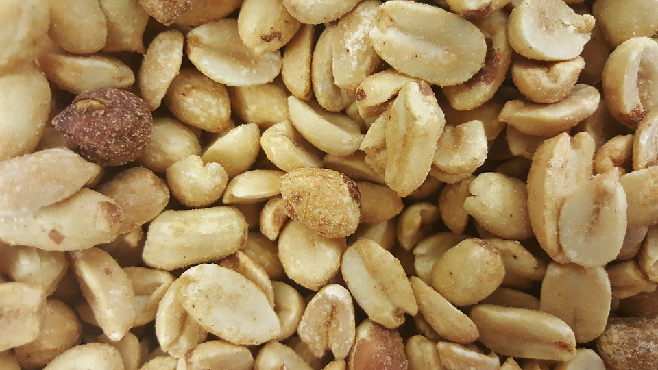 Peanuts Food Nutty Salted Shelled