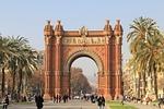 spain, barcelona, triumphal arch