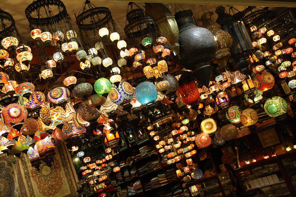 Lantern, Light, Lamp, Hanging, Lighting, Arabic, Arab