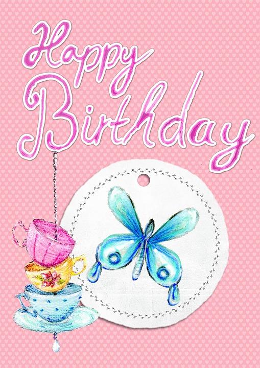 Free illustration Happy Birthday Card Greeting Free Image on – Happy Birthday Card Greeting