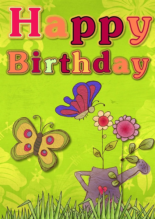 Free illustration Happy Birthday Card Greeting Free Image on – Green Birthday Card
