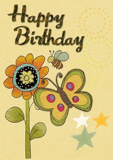 Happy Birthday Card 183 Free Image On Pixabay