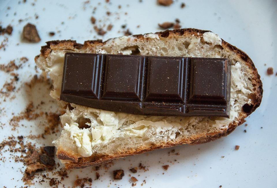 Bread Taste Chocolate Butter Chocolate Bar Brunch