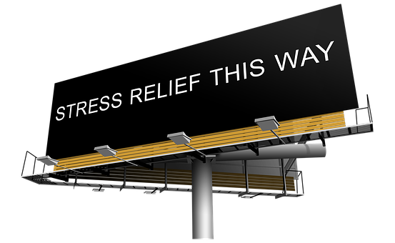 Stress Relief Help Sign Relax Relaxation P
