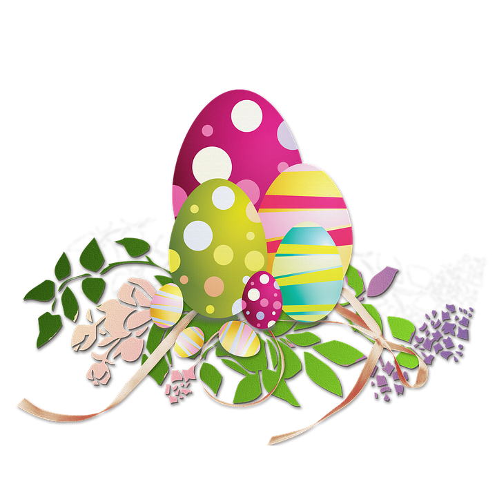 Free illustration easter eggs decoration image