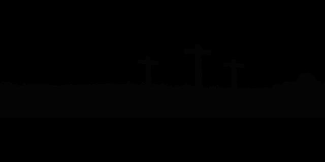 Free Vector Graphic: Cross, Silhouette, Religion, God