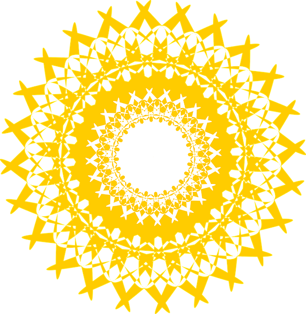 Free Vector Graphic Chakra Yoga Bright Mandala Free