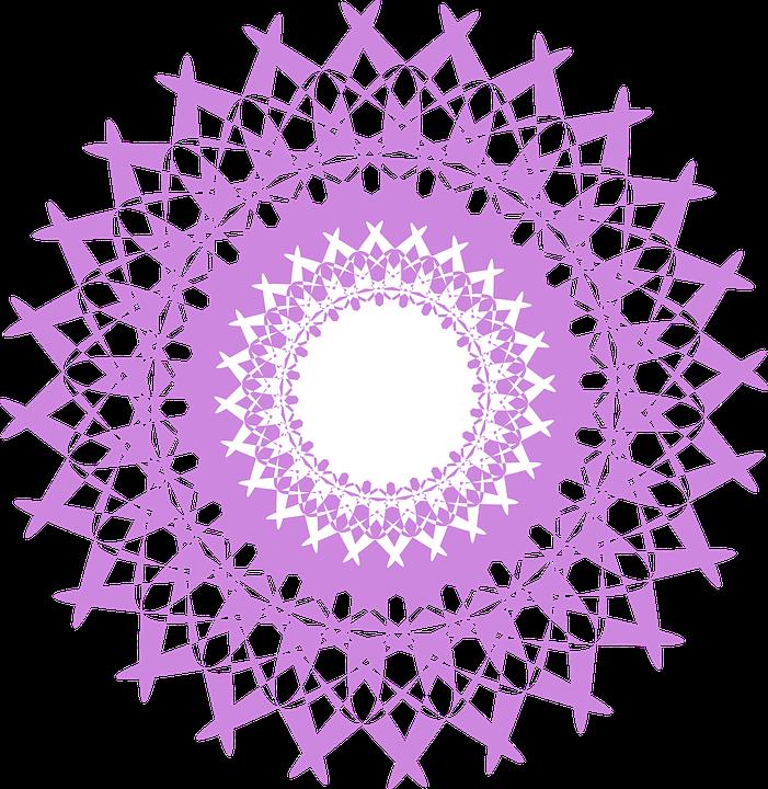 Purple Chakra Spiritual Free Vector Graphic On Pixabay