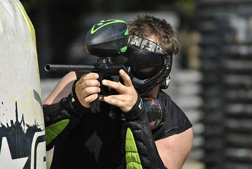 Paintball, Sports, Extreme, Paintball