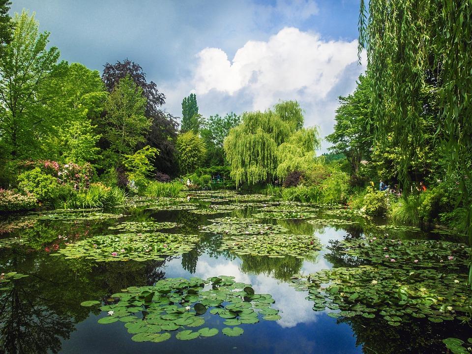 Giardini Monet, Giverny, Giardini