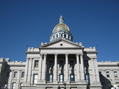 Denver Capitol Colorado Dome Building Usa