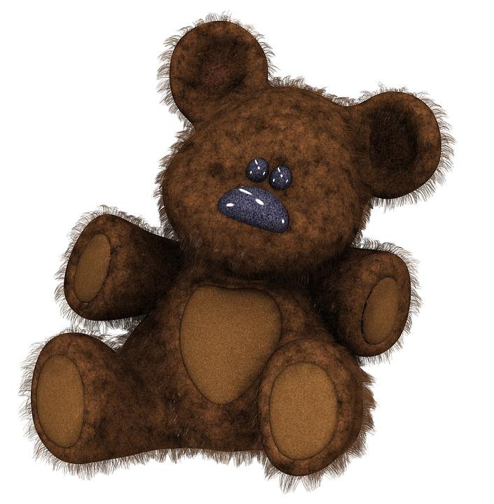 Medvidek 3d Teddy Kresleny Obrazek Zdarma Na Pixabay