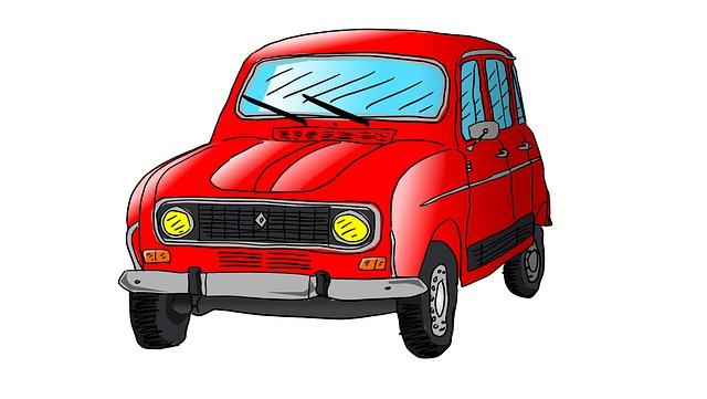 Gratis illustrasjon renault r4 auto bil tegning gratis bilde p pixabay 1279796 - Image voiture dessin ...
