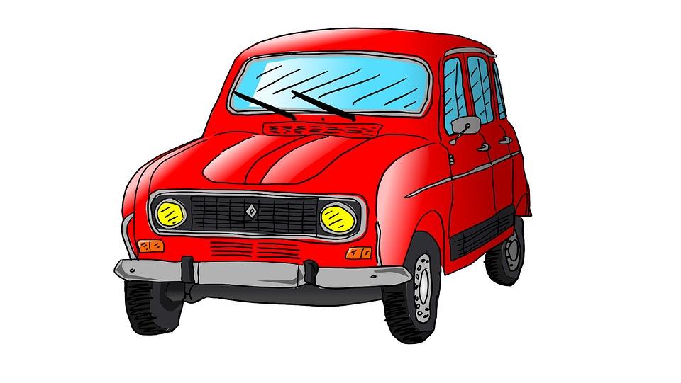 Renault r4 auto image gratuite sur pixabay - Dessin de car ...