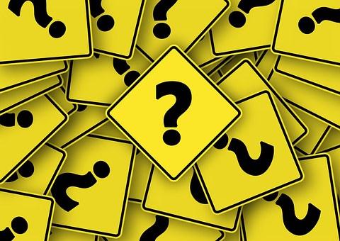 Znak Drogowy, Pytanie, Znak Zapytania