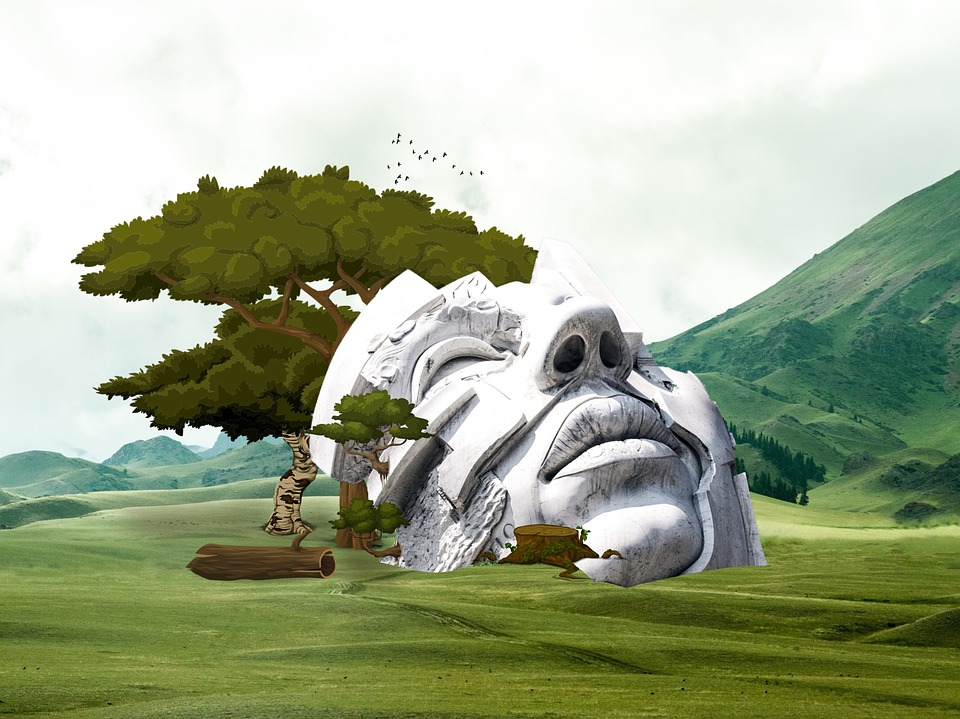 free illustration  landscape  monument  architecture