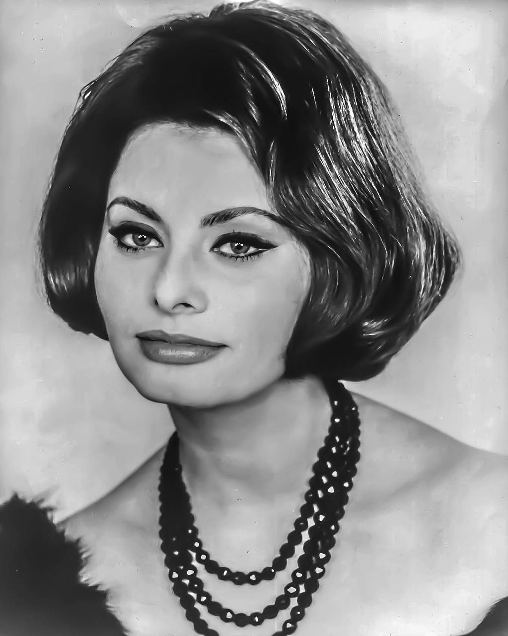 Sophia Loren Femminile Ritratto - Foto gratis su Pixabay