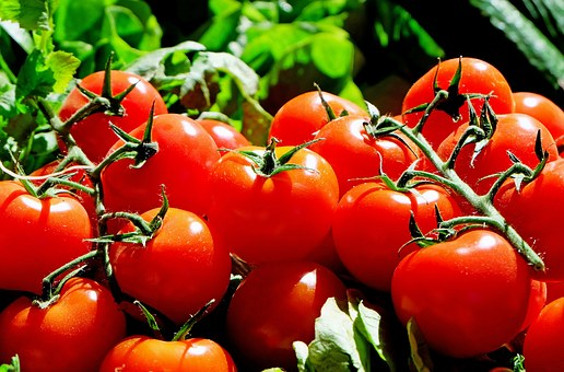 Tomatoes, Red, Food, Fresh, Market