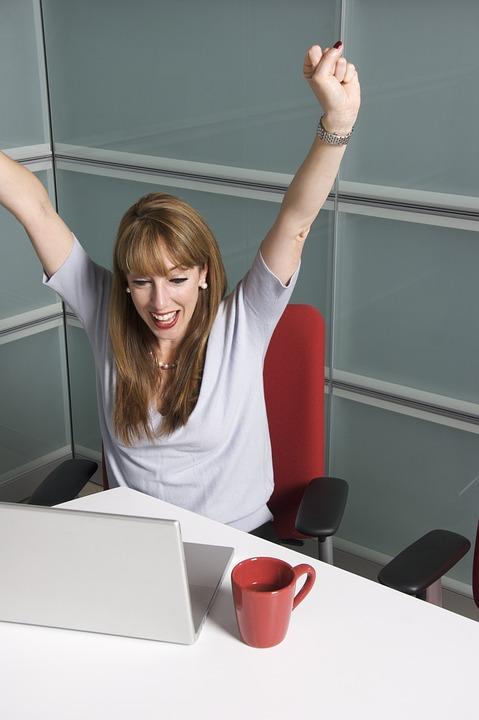 Female, College, Student, Office People, Success, Bingo