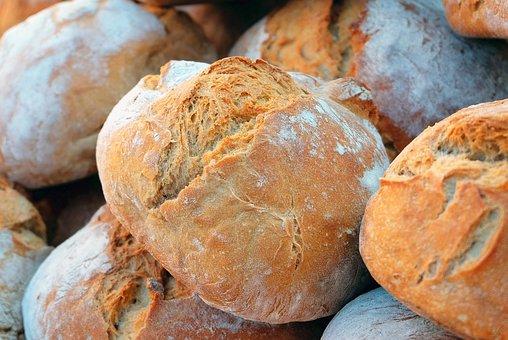 Bread, Farmer'S Bread, Crispy, Baked