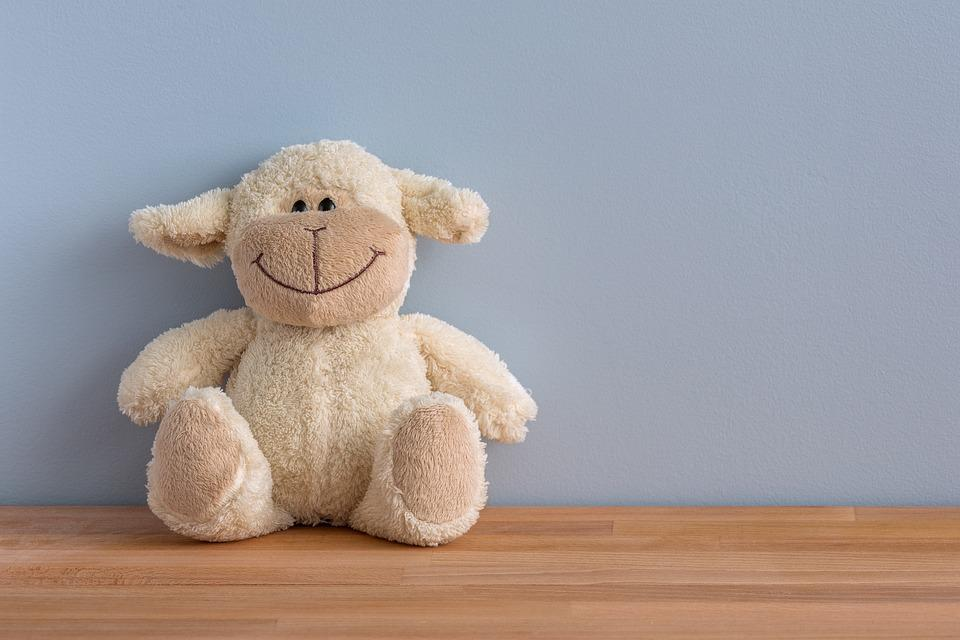 Glad, Smiler, Krammedyr, Legetøj, Smil, Teddy, Bamse