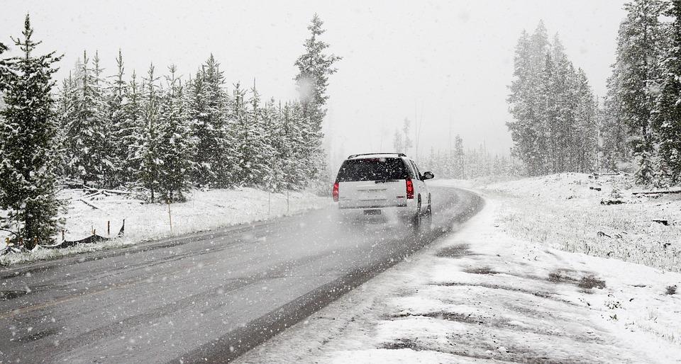 Снег, Дороги, Зима, Автомобиль, Roadtrip, Road Trip