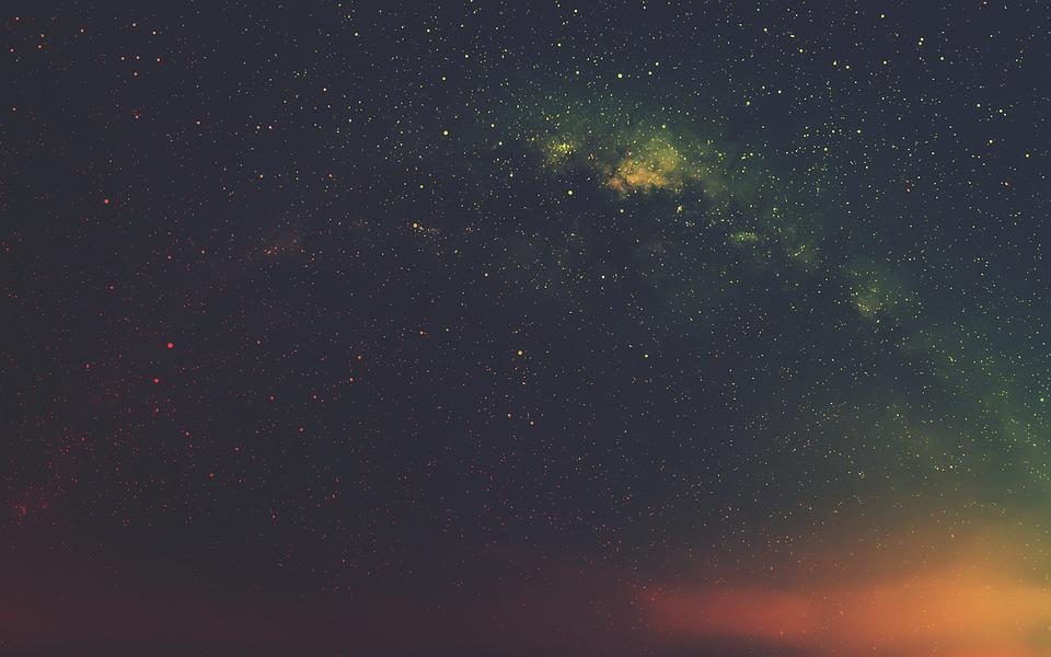 небо ночь фото