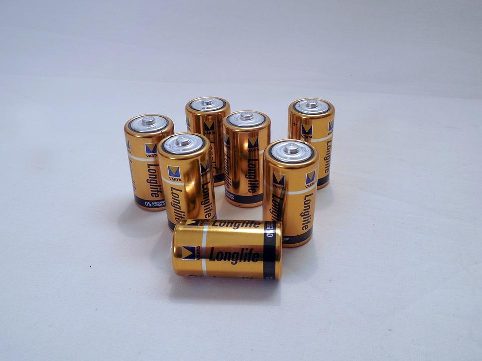 Baterii, Prąd, Energii, Elektrycznie, Komórka
