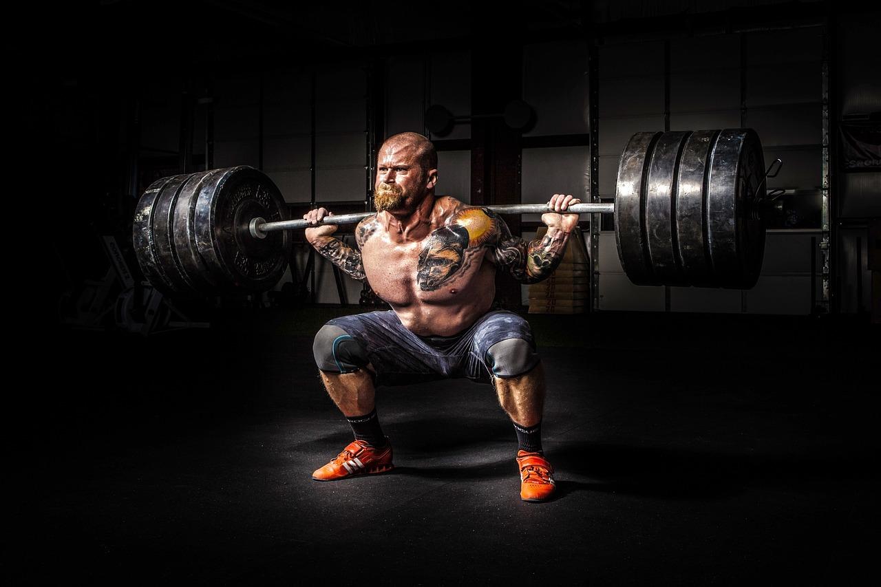 男, 人, 電源, 強度, 強力な, フィットネス, 体, 筋肉, 重量, 疲れ, 重い, 重量挙げ, 努力