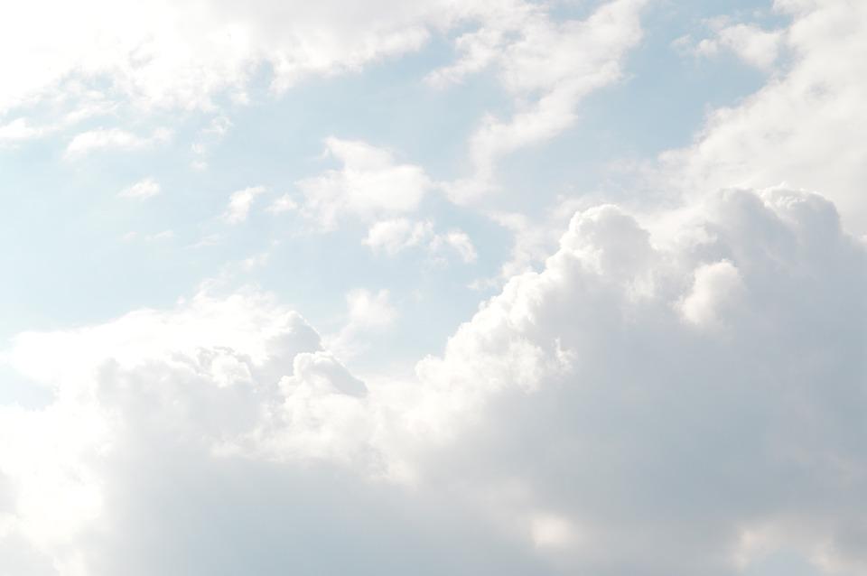 雲, 空, 明るい, 夏時間, 光, 日当たりの良い, 曇った, 空の景色, 雲景画, 天気予報