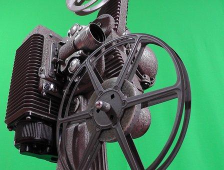 Projektor, Kino, Spule, Film, Projektion