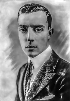 Buster Keaton - Male, Portrait