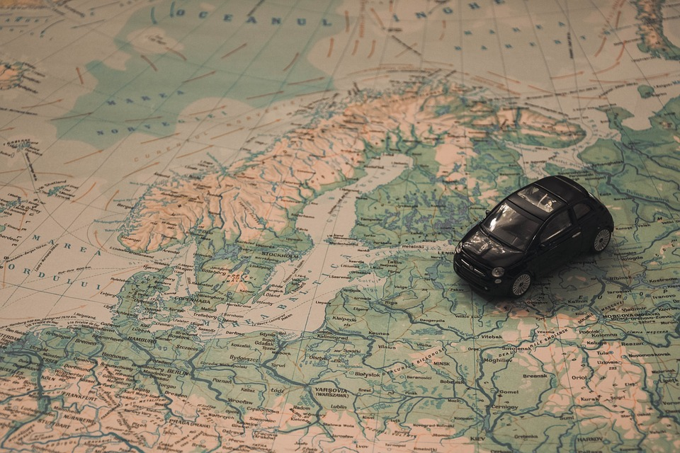 Holidays, Car, Travel, Route, Adventure, Scandinavia