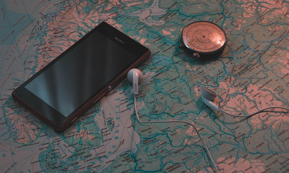 Smartphone, Música, Sony, De Viaje, Tiempo, Ver