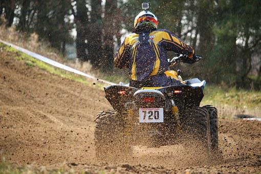 Motocross Cross Quad Atv Race All-Terrain
