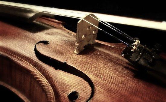 音楽, バイオリン, 楽器, 弦楽器, メロディー